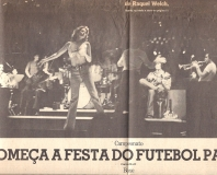 Tony with Raquel Welch in Sao Paulo
